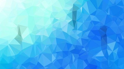 Blue Polygon Background Design Graphic