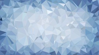 Abstract Blue Polygon Background Design Vector Graphic
