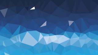 Blue Polygonal Abstract Background Design Vector Art