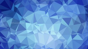 Blue Polygonal Abstract Background Vector Art