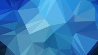 Blue Polygon Triangle Pattern Background Illustration