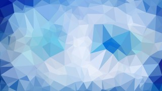 Blue Polygon Background Template