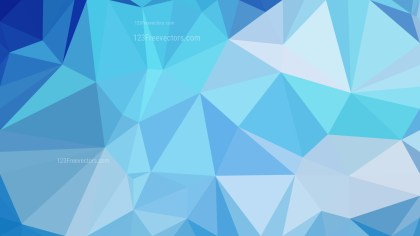 Blue Low Poly Background Template