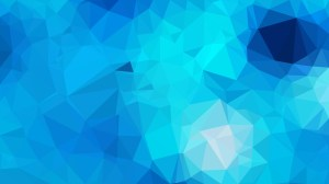 Abstract Blue Polygon Pattern Background Vector Art