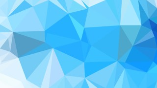 Abstract Blue Polygonal Background Template Vector Graphic