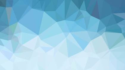 Abstract Blue Polygon Background Design