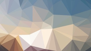 Abstract Blue and Brown Polygonal Triangle Background Illustrator