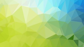 Abstract Blue and Green Polygon Background Design Vector