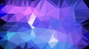 Blue and Purple Polygon Triangle Pattern Background