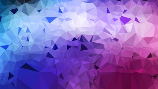 Blue and Purple Polygon Pattern Abstract Background Vector Image