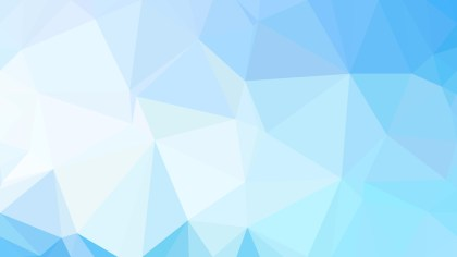 Blue and White Polygon Triangle Background Vector Image