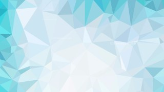 Blue and White Polygonal Triangle Background