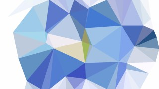 Blue and White Low Poly Background Image