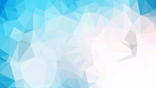 Abstract Blue and White Polygon Background Template Design