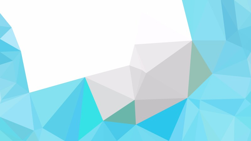 Abstract Blue and White Polygonal Background Vector Image