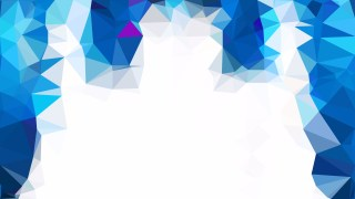 Blue and White Polygon Background Graphic Design