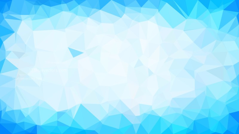 Blue and White Polygon Background Graphic Design Illustration