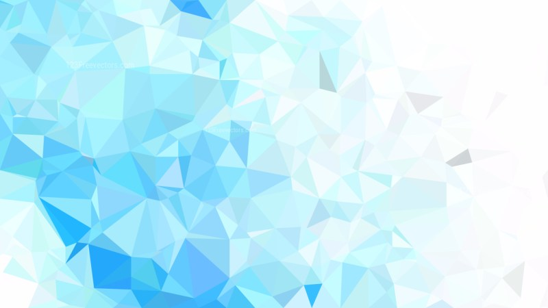 Abstract Blue and White Polygon Background Graphic Design Vector Image