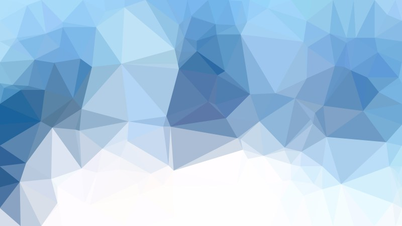 Blue and White Polygonal Background Template