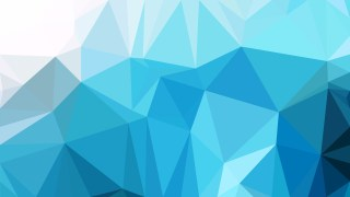 Abstract Blue and White Polygon Background Template