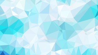 Blue and White Polygon Pattern Background Vector Art