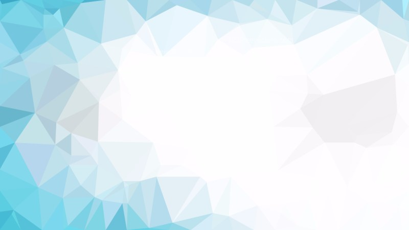 Blue and White Polygon Background Template Graphic