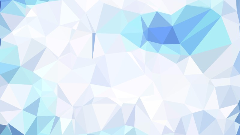 Blue and White Polygonal Background Image
