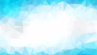 Abstract Blue and White Polygonal Background Image