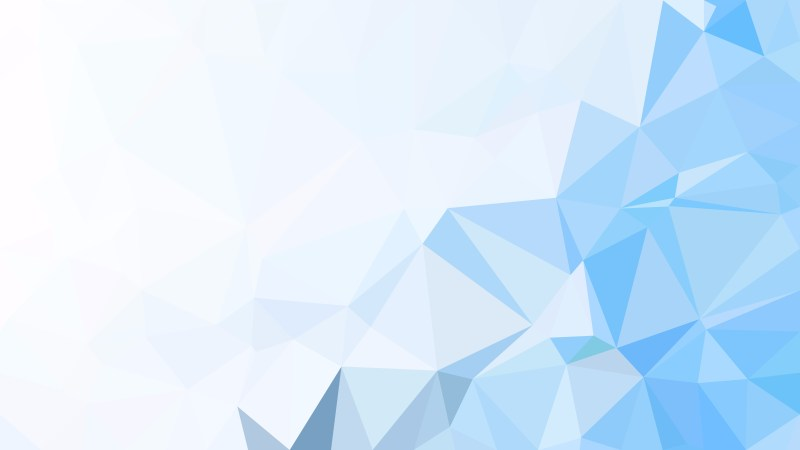 Blue and White Polygonal Background Design