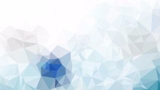 Blue and White Low Poly Background Template