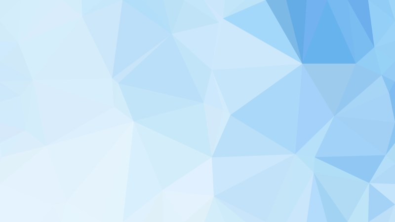 Abstract Blue and White Polygonal Triangle Background