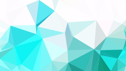 Blue and White Polygonal Triangle Background Vector