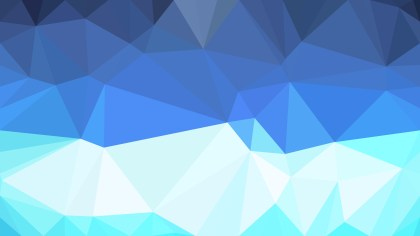 Blue and White Triangle Geometric Background Vector