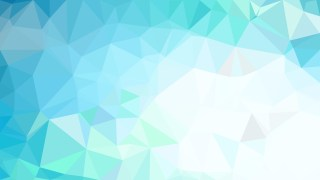 Blue and White Polygonal Background Template Illustrator
