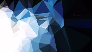 Blue Black and White Polygonal Triangle Background Illustrator