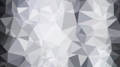 Bright Grey Polygonal Background