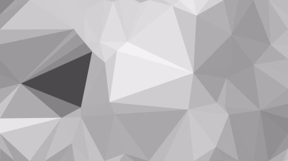 Abstract Bright Grey Polygon Background Graphic