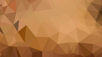 Brown Polygon Background Graphic
