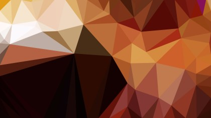 Abstract Brown Polygonal Background Design