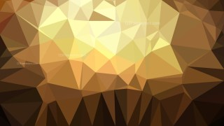 Brown Polygon Background Graphic Design Illustration