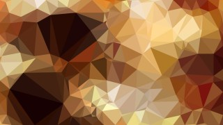 Abstract Brown Low Poly Background Design Illustrator