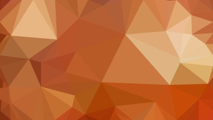 Brown Polygonal Abstract Background