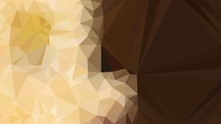 Brown Triangle Geometric Background
