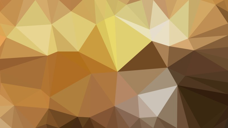 Brown Triangle Geometric Background Vector