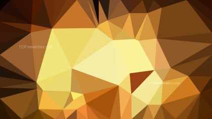 Brown Triangle Geometric Background Illustration