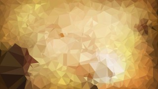 Brown Polygon Pattern Background