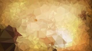Brown Polygon Pattern Background