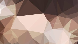 Abstract Brown Polygon Background Template