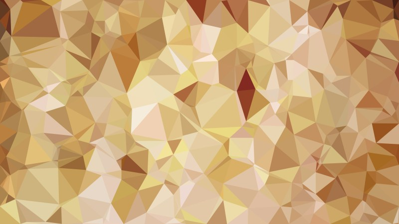 Abstract Brown Low Poly Background Template