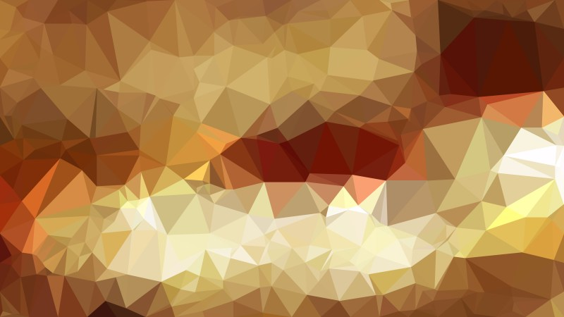 Brown Low Poly Background